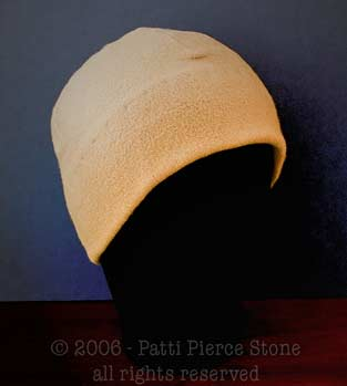 Adult/Teen Sewn Polar Fleece Hat Pattern - Helping Hearts for