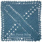 Knitted Granny Square Patterns : Charity Pattern - Knitted